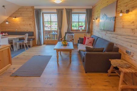 Architekturfoto Innen Ferienzimmer mit Gegenlicht