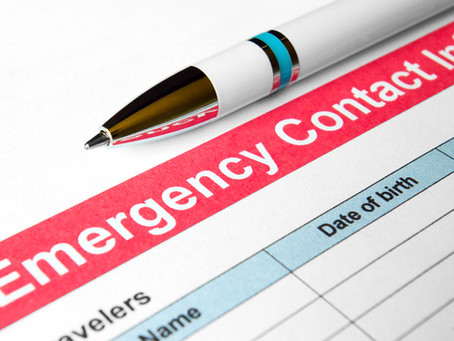 UPDATE EMERGENCY CONTACT INFORMATION
