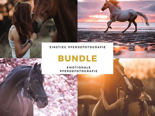 BUNDLE Einstieg in die Pferdefotografie & Emotionale Pferdefotografie