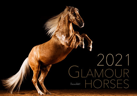 Glamour Horses 2021 - A3 Kalender