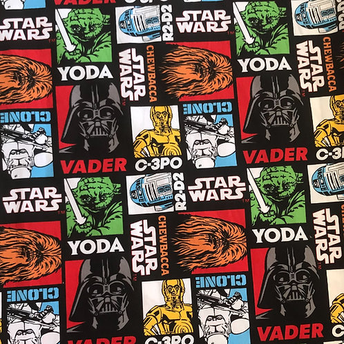 Star Wars Characters inc. Yoda, Chewy & Vader