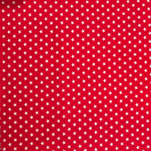 White Stars on Red