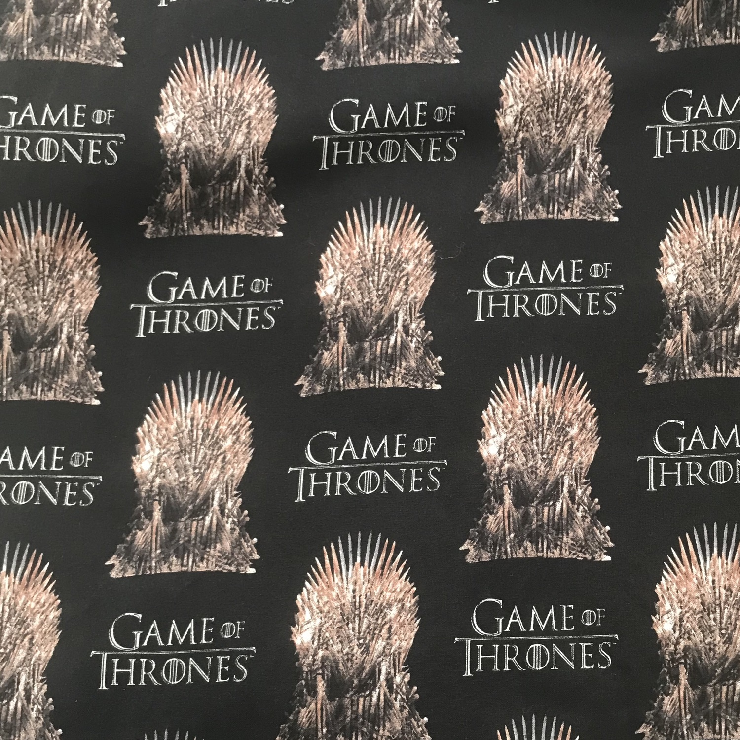 Game of Thrones on Black