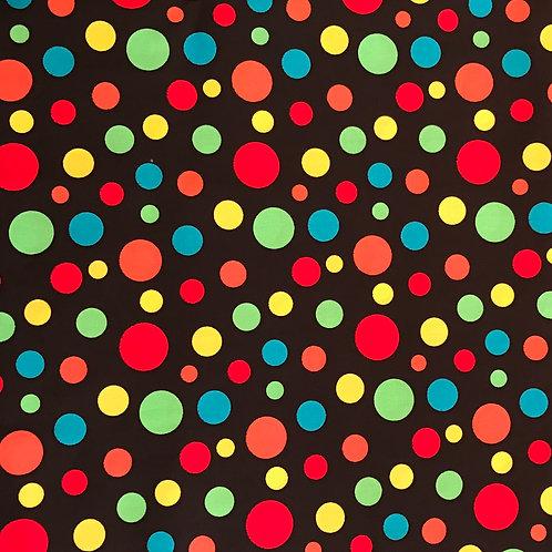 Multi coloured Polka Dots