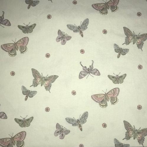 Butterflies on Pale Green