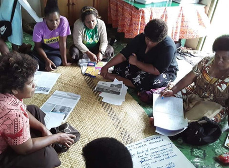 Women-led responses to COVID-19: Report from the Pacific Islands