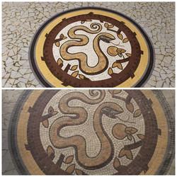 Restauration mosaïque