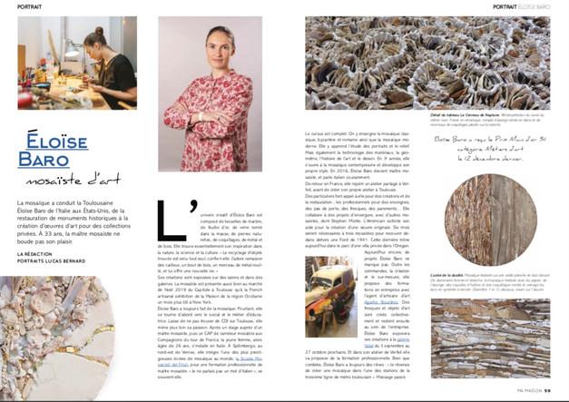 Portrait Eloïse Baro Ma Maison Magazine
