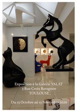 Affiche Exposition Galerie Valat