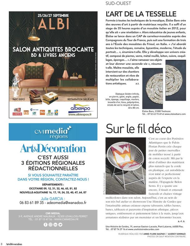 2Eloise Baro Cahier Sud Ouest Art_Et_Dec