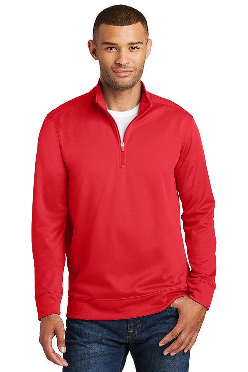 Port & Company® Performance Fleece 1/4-Zip Pullover Sweatshirt