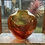 Thumbnail: Wave Vase in Golds and Oranges