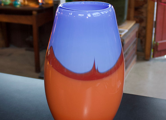 """Desert Dreams"" Vase with Dutch Blue Sky"