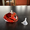Thumbnail: Oil Lamp in Vibrant Reds