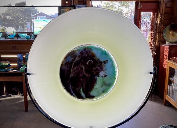 """Spring Black Bear"" Wildlife Rondelle"
