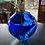 Thumbnail: Wave Vase in Vivid Cobalt and Turquoise