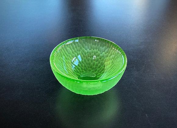 Battuto Bowl in Warm Green