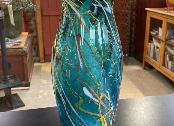 Bad Hair Day Vase in Greens