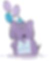 Logo animtora zabaw dla dzieci Animacje Fascynacje