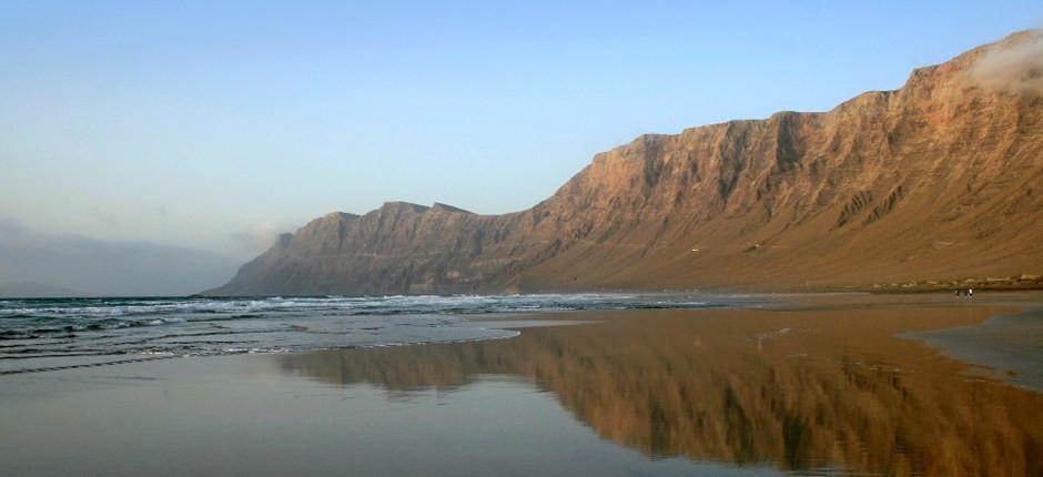playa, Famara, Lanzarote,