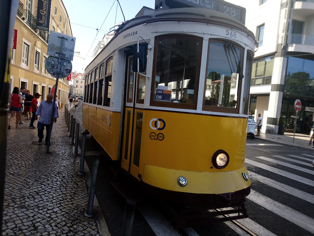 tranvía 28 Lisboa