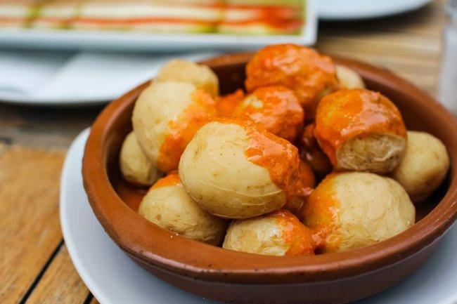 comida típica Canaria