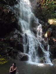 Cascade du Paradis vert