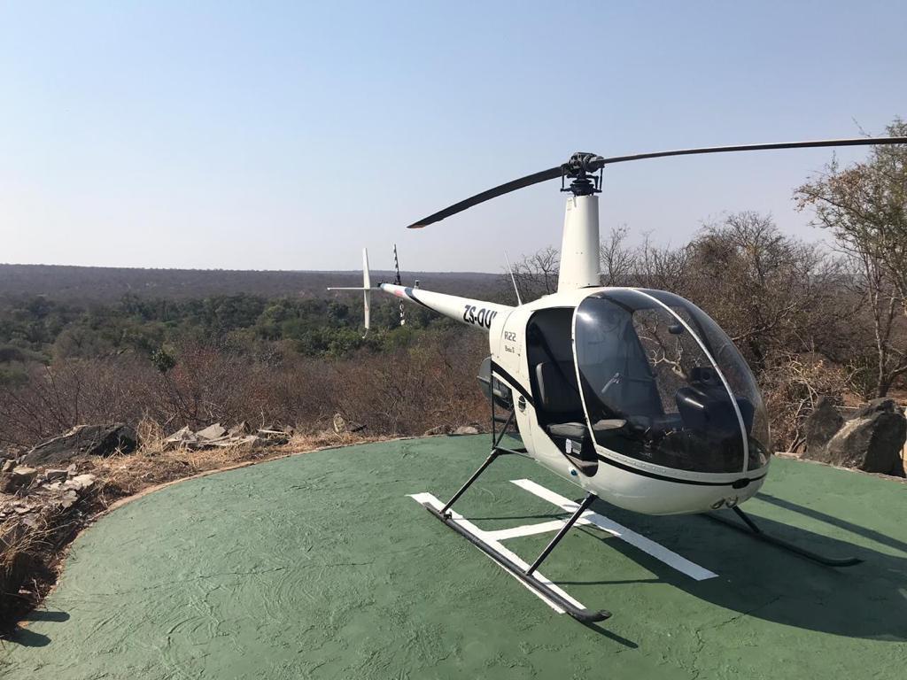 Tour en hélicoptère