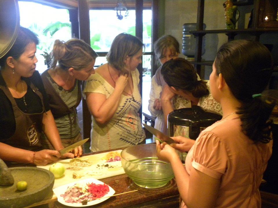 cours de cuisine balinaise avec Desa