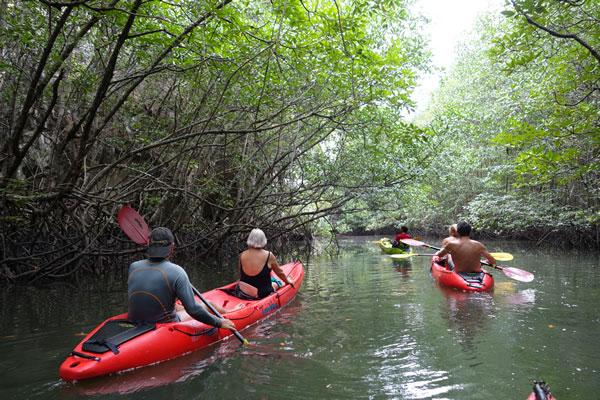 Canoé-Kayak (biplaces) à Tha Lane