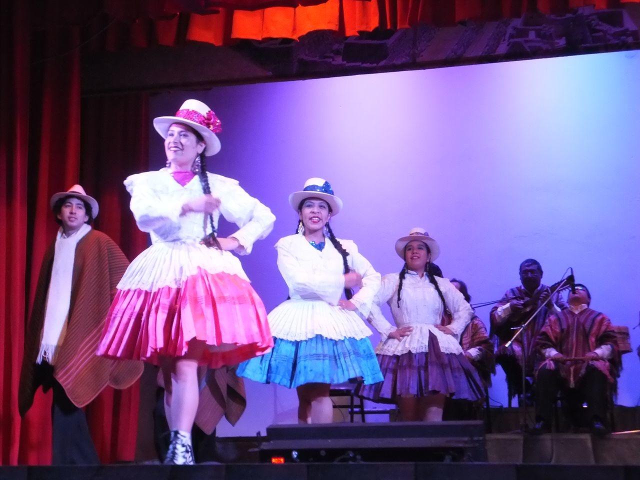 Un spectacle de danses traditionnell