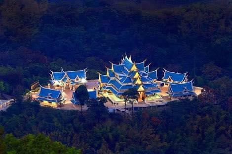 Le temple bleu