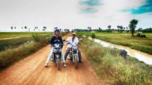 Le vrai Cambodge avec Kunthy & Rico à SOBAN TEUK
