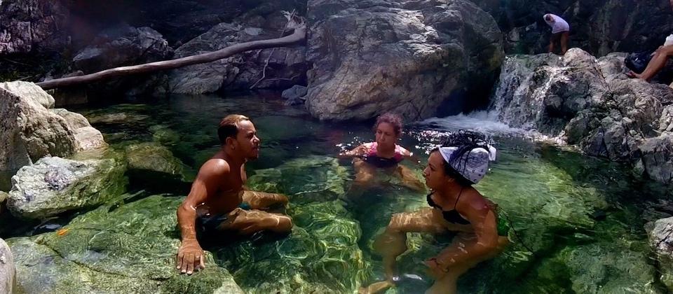 Les cascades de la Rivière DUABA