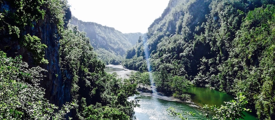 Le canyon de Yumuri