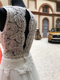 Exposition des créations Marlène Larroze lors de la soirée delancement de la nouvelle DS3 Crossback parle Ds store de Toulouse.