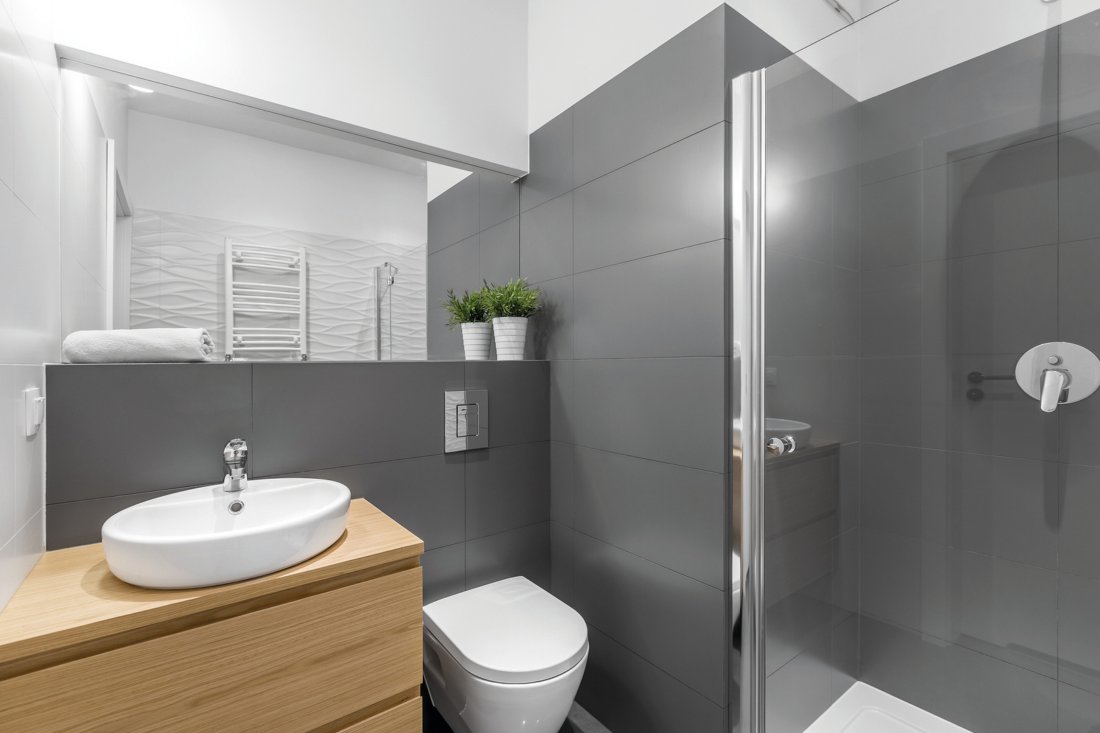 bigstock-Modern-Grey-Bathroom-With-Show-179830993