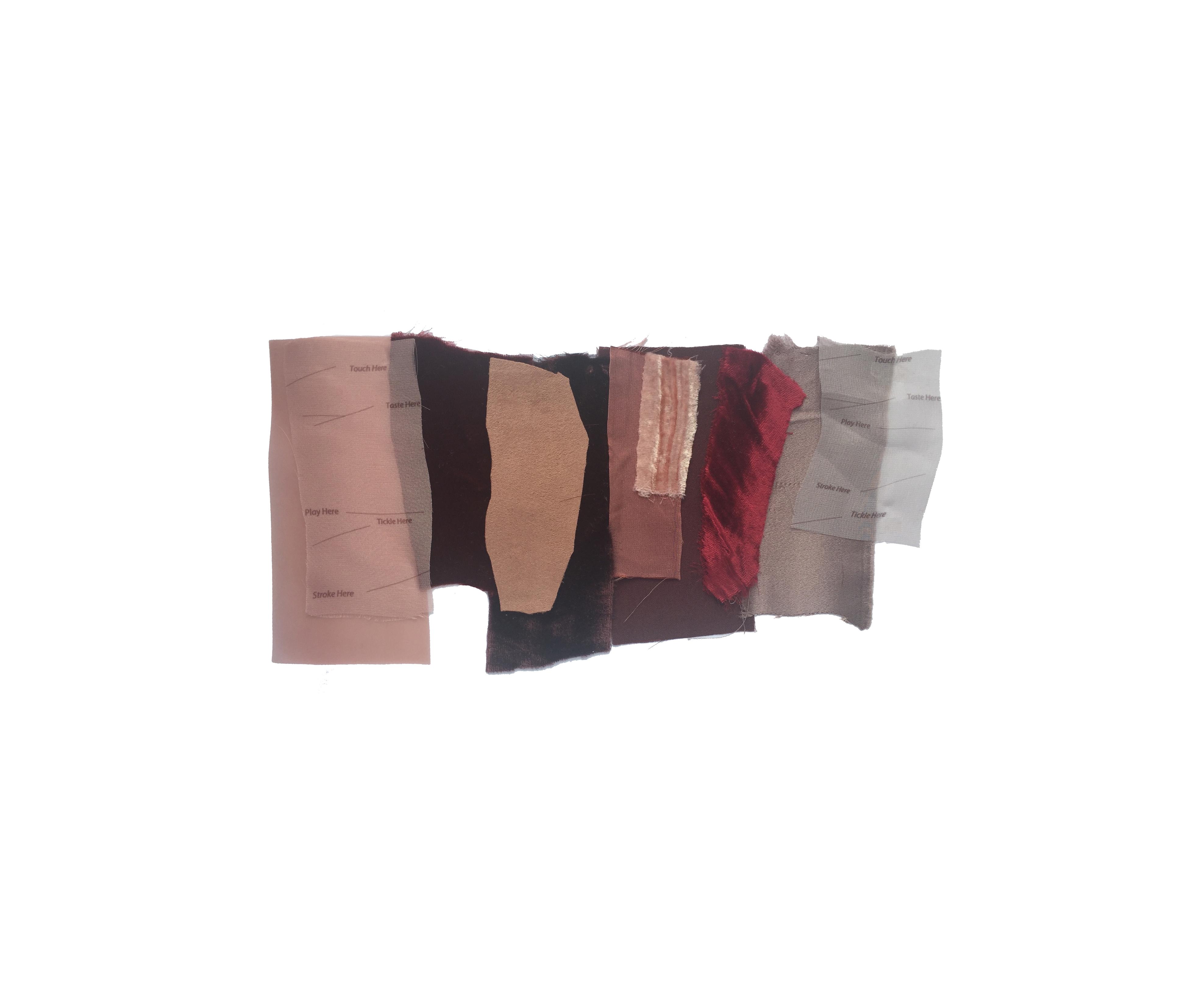 blush fabric samples
