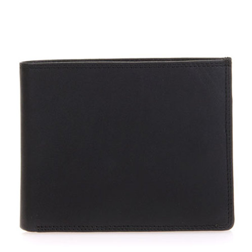 MyWalit Large Flap Wallet Black