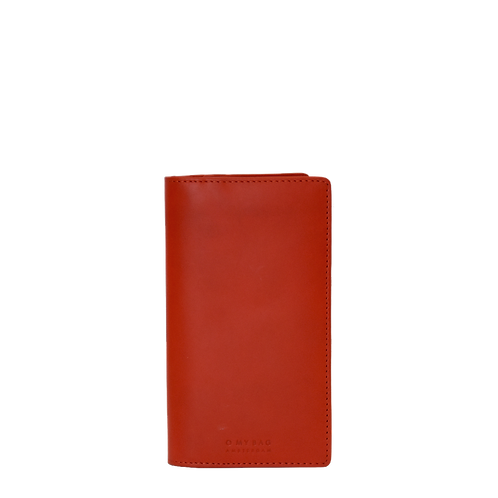 O My Bag Fold-Over Travel Wallet Red