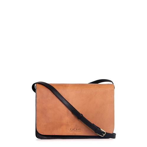 O My Bag Audrey Classic Black Camel
