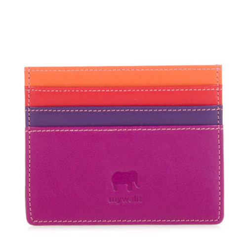MyWalit Double Sided Creditcard Holder Sangria Multi