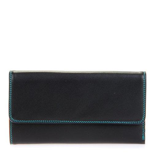 MyWalit Tri-fold Zip Portemonnee Black Pace