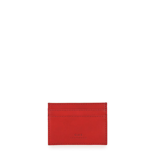 O My Bag Mark's Cardcase Classic Red