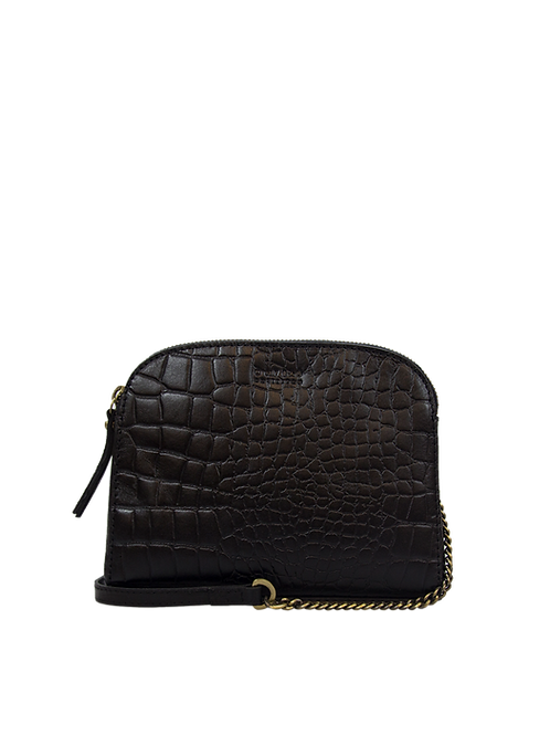 O My Bag Emily Black Croco