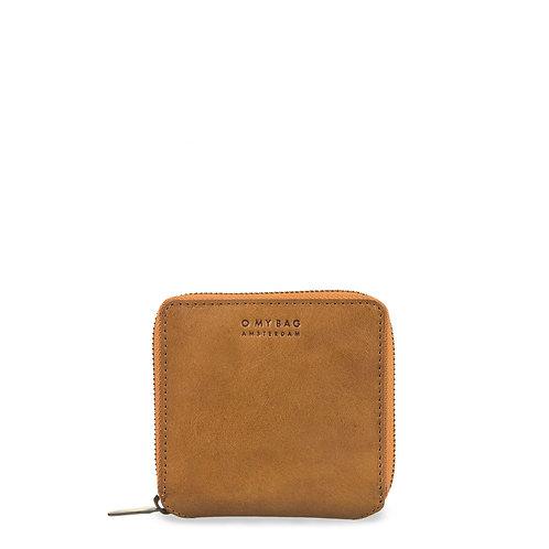 O My Bag Sonny Square Wallet Cognac