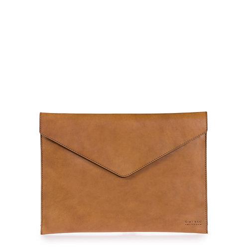 O My Bag Envelope Laptop Sleeve 13'' Cognac