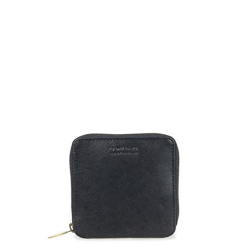 O My Bag Sonny Square Wallet Black