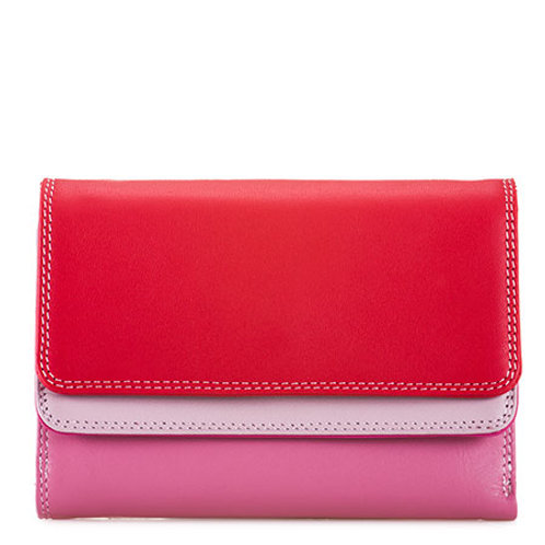 MyWalit Double Flap Purse/Portemonnee Ruby