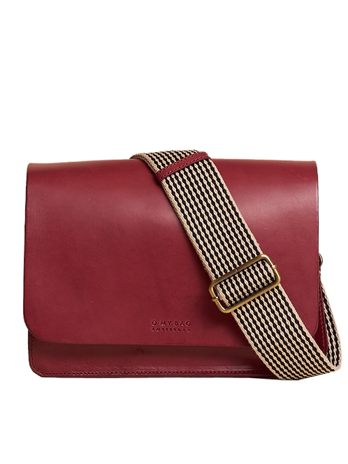 O My Bag Audrey Classic Ruby